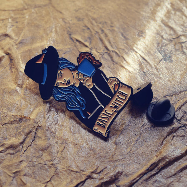 "Enamel Pin ""Basic Witch"""
