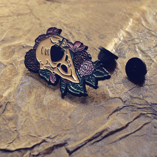 "Enamel Pin ""Bird Brain"""