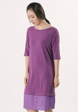 T-shirt Dress - Purple
