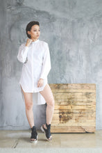 Jorden Oversized Shirt- White