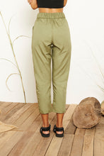 Aira High-waisted Pants - Green