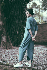 Mia Jumpsuit- Blue