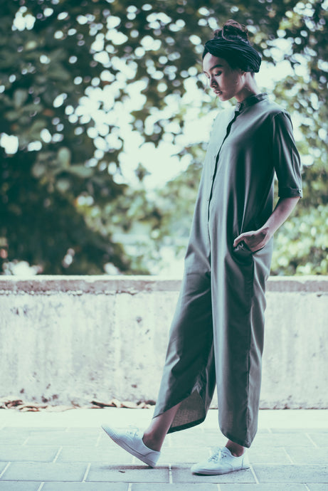 Mia Jumpsuit- Green