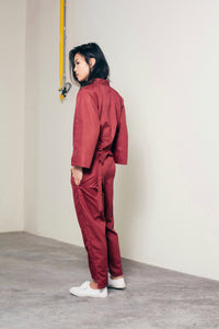 Kei Jumpsuit- Red (Limited Edition)
