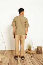 Liam Belted Pants - Khaki