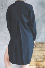 Jorden Oversized Shirt- Black