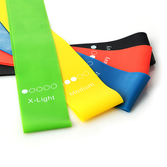 5 Pack Resistance Bands