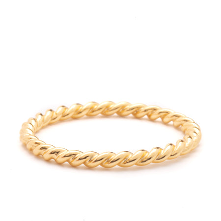 Ring - Hailey Gold Twist Ring