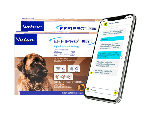 Meds to Keep Fleas Away + Telehealth 6 Month Bundle