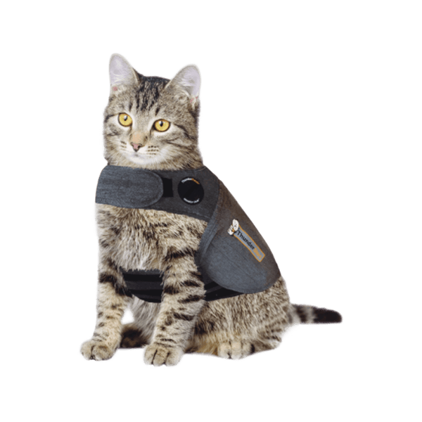 Thundershirt Classic Cat Anxiety Jacket - Medium (9 to 13 lbs)