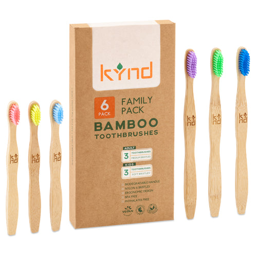 eco friendly family toothbrushes