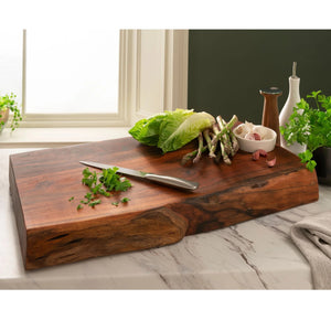 Large Live Edge Pymans Acacia Chopping Board