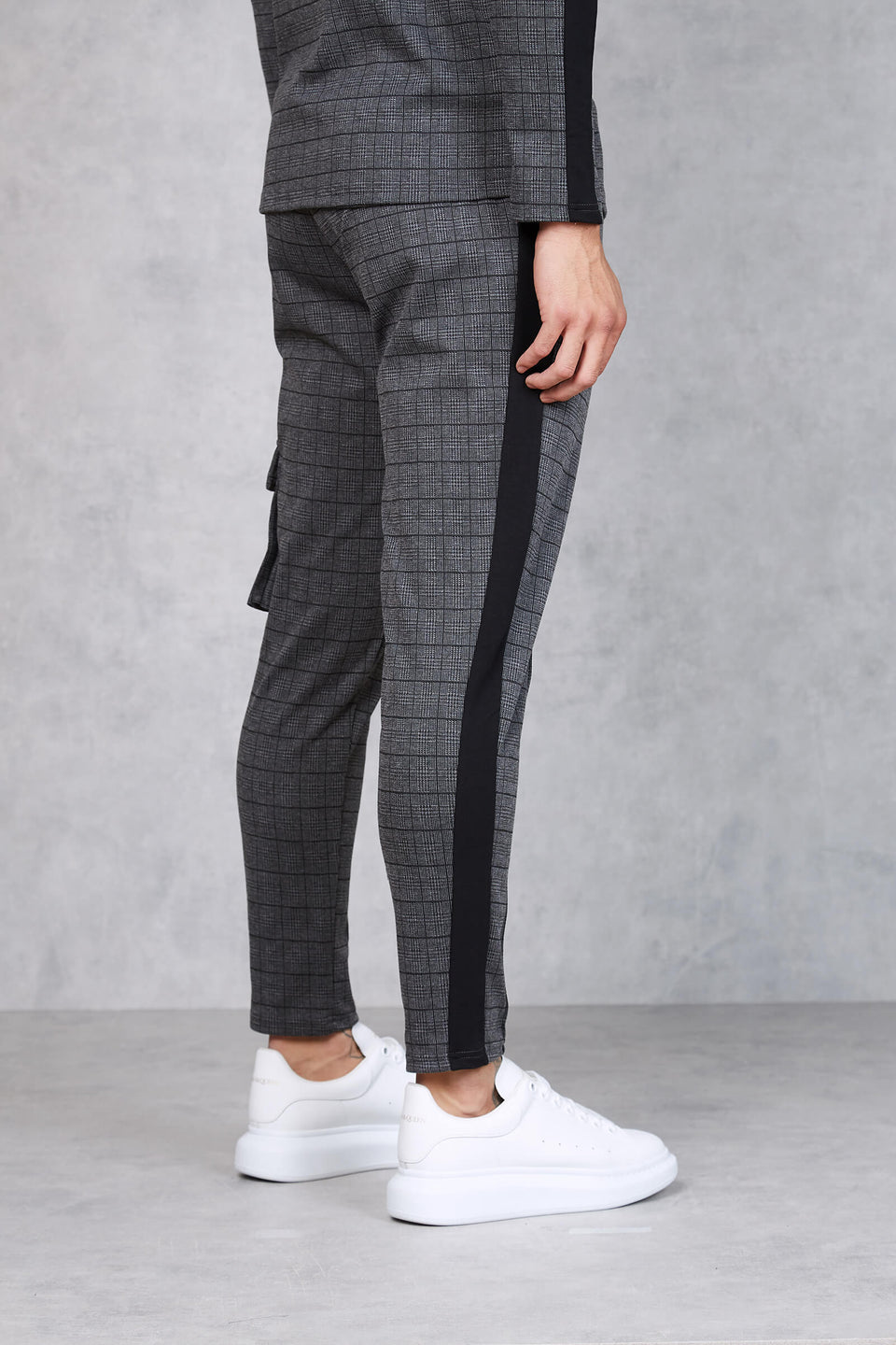 Nonstop Check Cropped Trouser