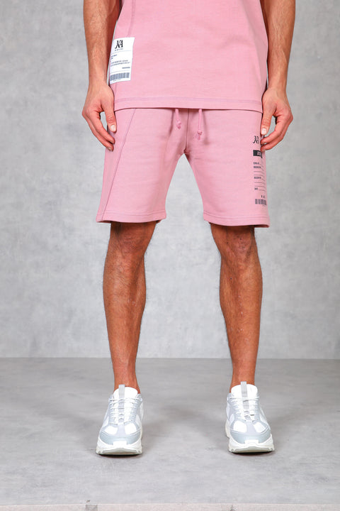 Replica Tonal Split Shorts - Rose