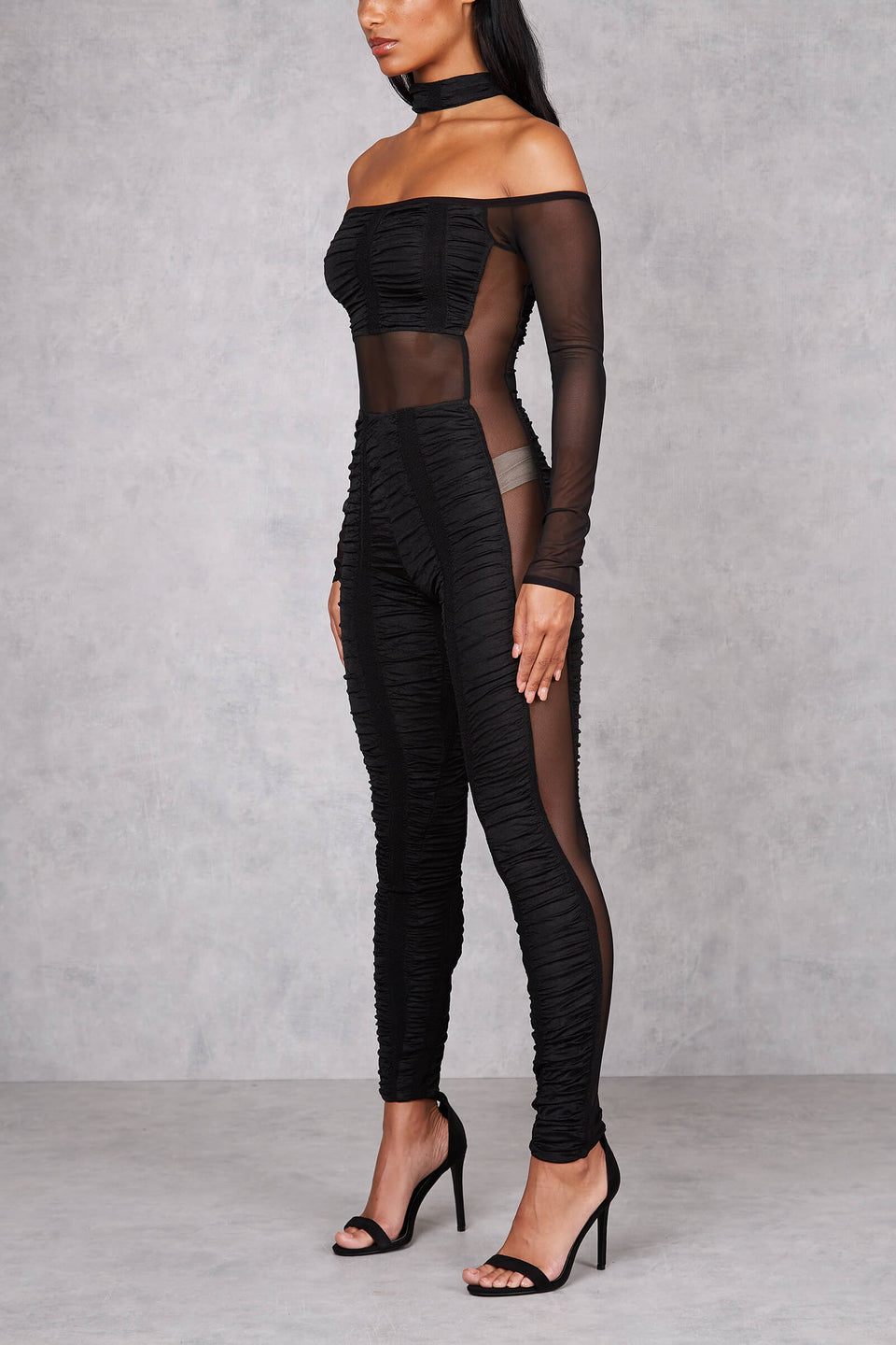 Womens Privacy Cut Out Jumpsuit
