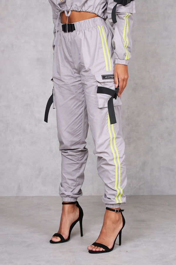 Womens Finesse Cargo Pant - Grey