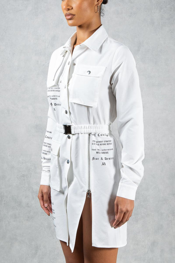 Fear & Desire Dress Shirt - White