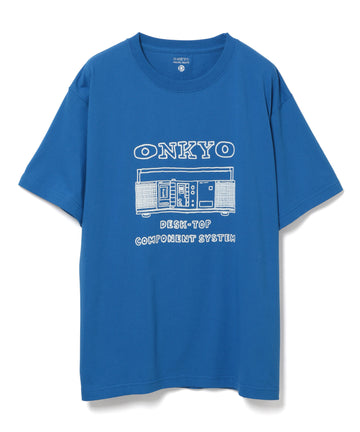 【NAIJEL GRAPH×ONKYO×10C】T-shirt BLUE