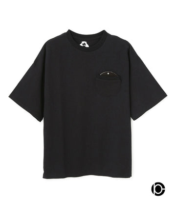 【HOLE AND HOLLAND×10C】DISK T-shirts BLACK01