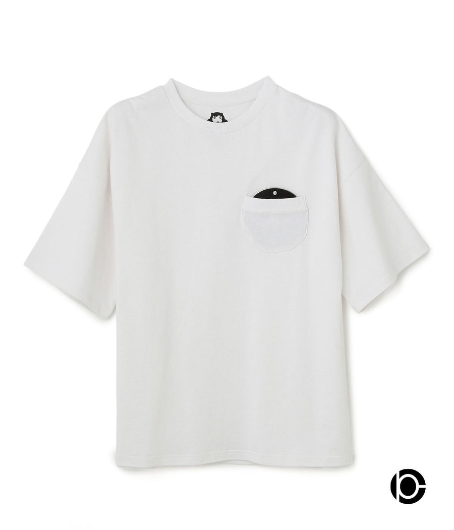 【HOLE AND HOLLAND×10C】DISK T-shirts WHITE10