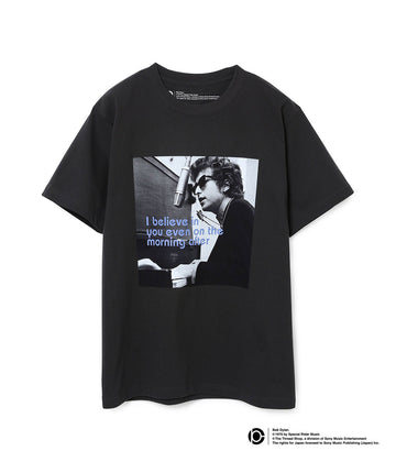 BOB DYLAN LYRIC T-SHIRTS BLACK01