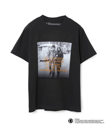 BOB DYLAN LYRIC T-SHIRTS BLACK03
