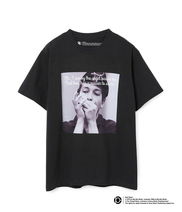 BOB DYLAN LYRIC T-SHIRTS BLACK04