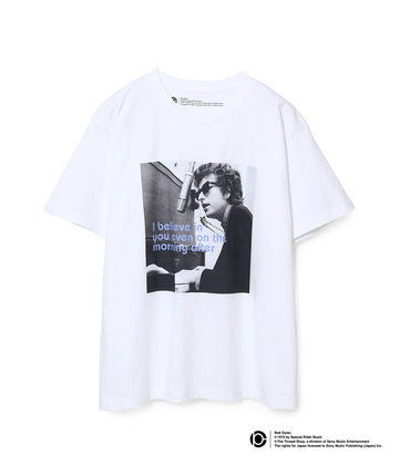 BOB DYLAN LYRIC T-SHIRTS WHITE10