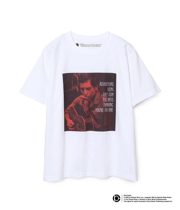 BOB DYLAN LYRIC T-SHIRTS WHITE11