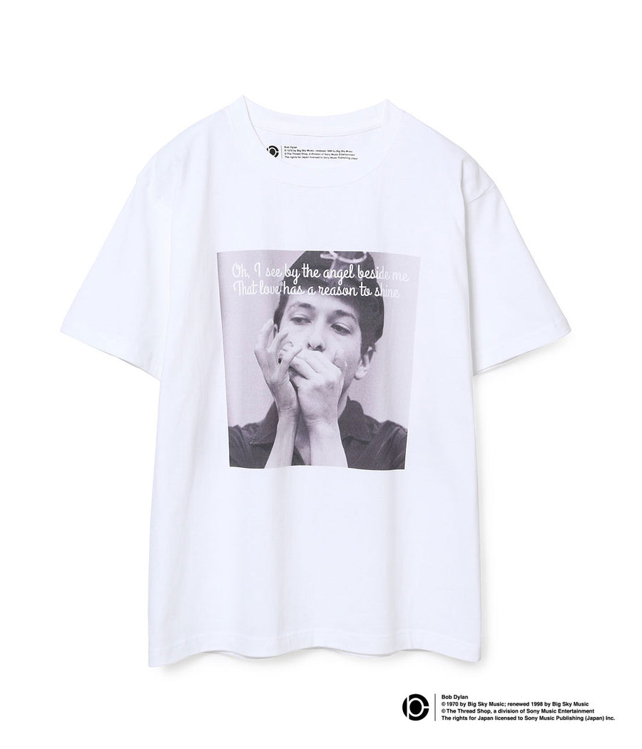 BOB DYLAN LYRIC T-SHIRTS WHITE13