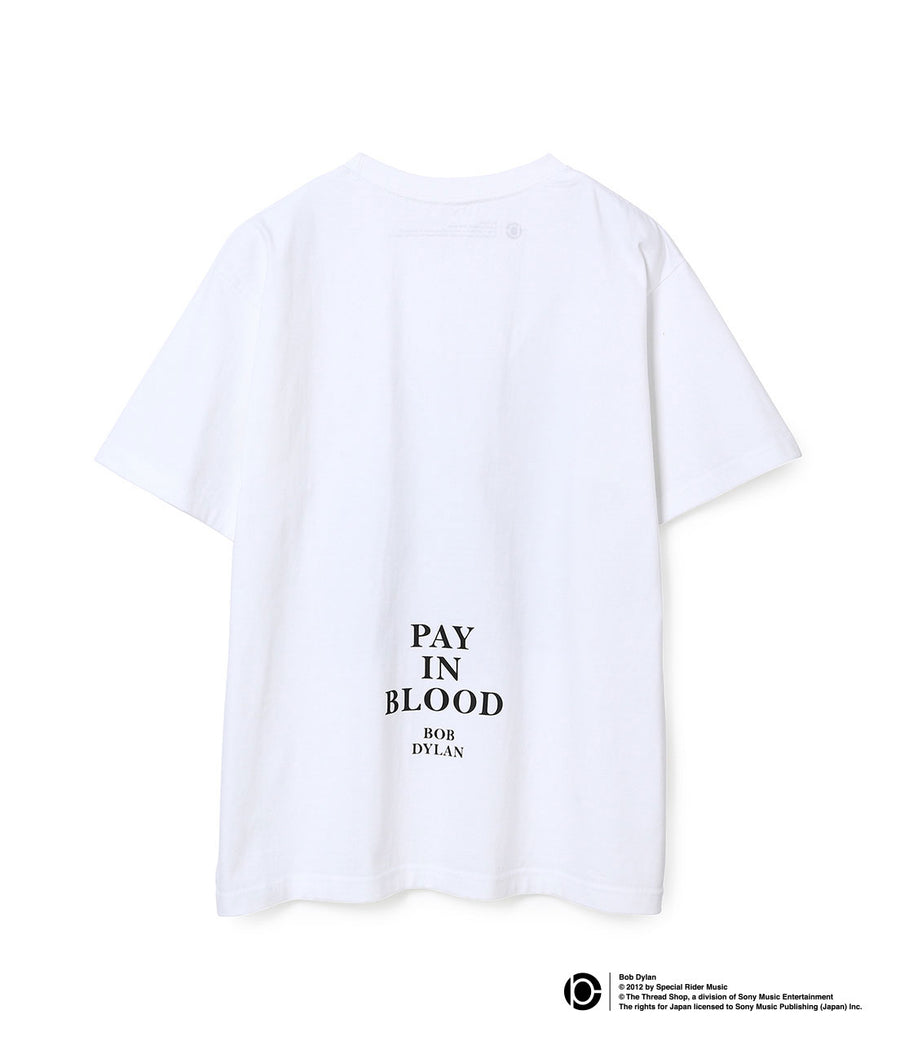 BOB DYLAN LYRIC T-SHIRTS WHITE14