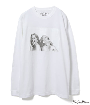 【JIM BRITT×10C】〈SISTERS〉Long Sleeve T-shirt/UNISEX