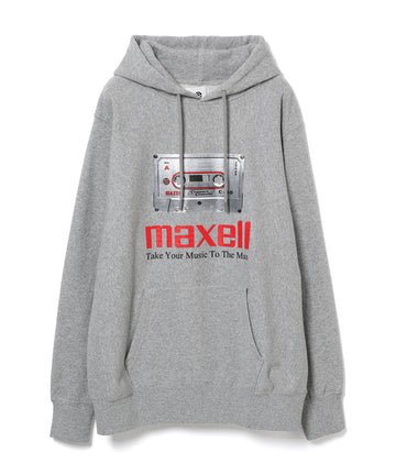 【maxell×10C】CASSETTE TAPE HOODIE GRAY07