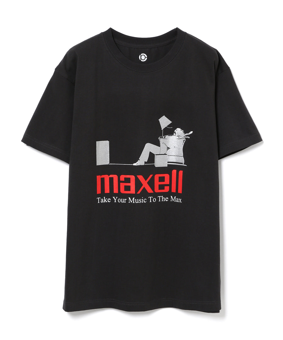 【maxell×10C】BLOWN AWAY GUY TEE BLACK02