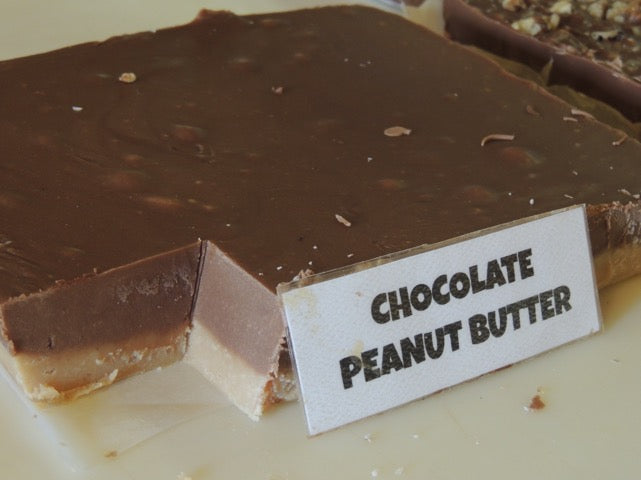 Chocolate Peanut Butter Fudge 1/2 Pound