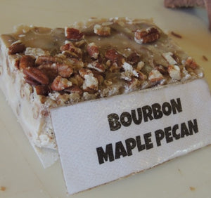 Bourbon Maple Pecan Fudge 1/2 Pound