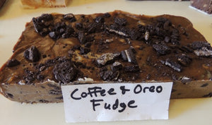Coffee and Oreo Fudge 1/2 Pound