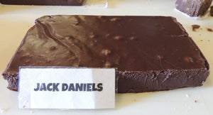 Dark Chocolate Fudge with Jack Daniels 1 Pound