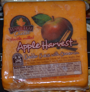 Apple Harvest Cheddar with Cinnamon