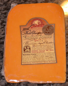 World Champion English Hollow Aged Cheddar