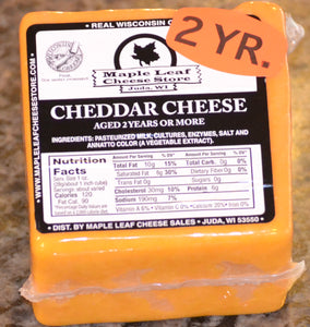 2 Year Aged Cheddar Cheese