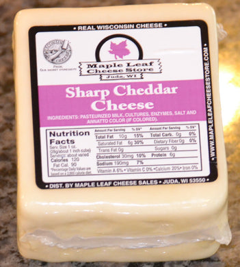 Sharp Cheddar Cheese (White)