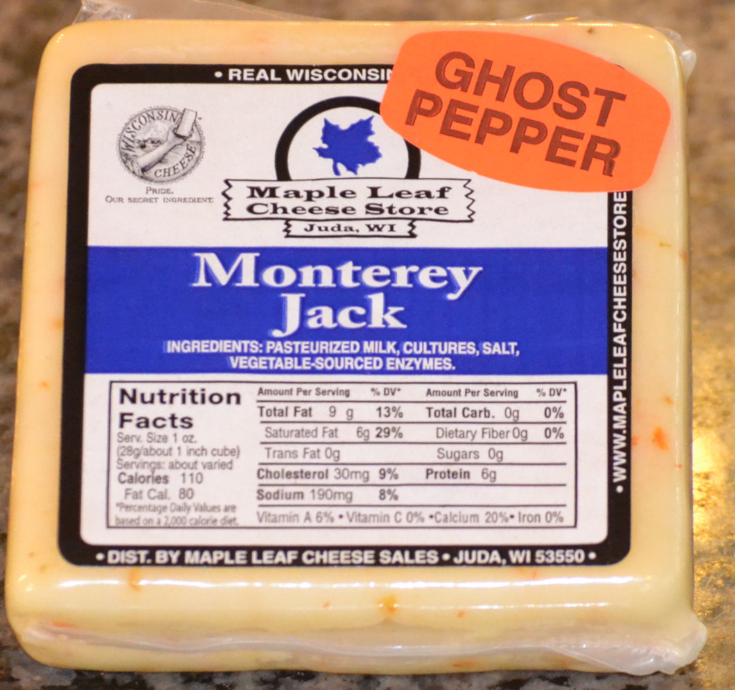 Ghost Pepper Monterey Jack Cheese