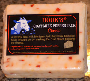 Hook's Goat Milk Pepper Jack Cheese