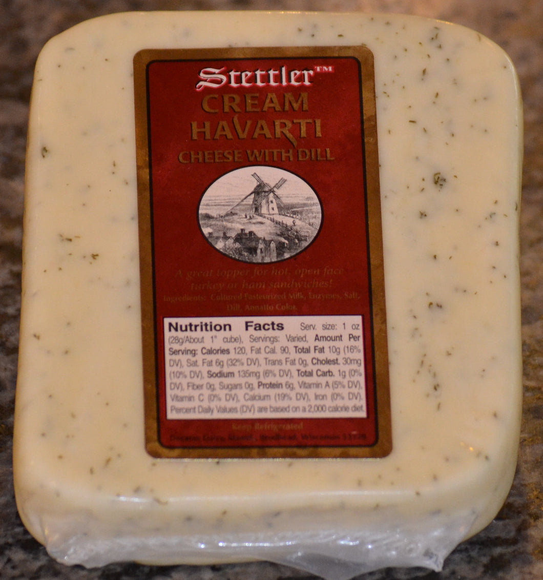 Cream Dill Havarti Cheese