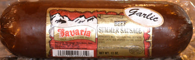 Bavaria Garlic Beef Summer Sausage