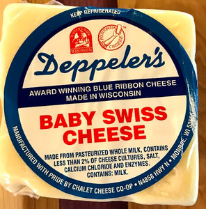 Deppeler's Baby Swiss Cheese