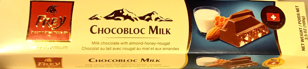 Chocobloc Milk Chocolate