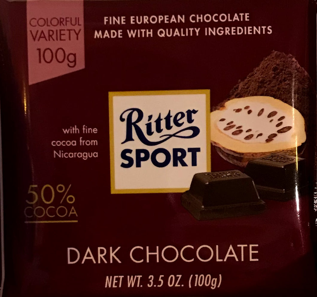 Ritter Dark Chocolate