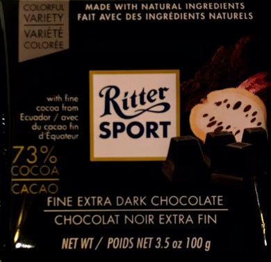 Ritter Extra Fine Dark Chocolate